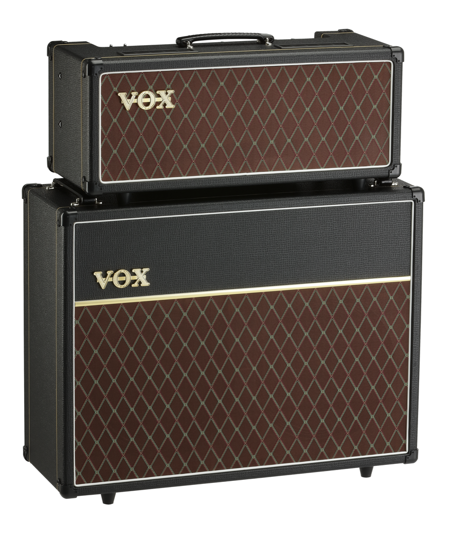 VOX AC15ch amp stack