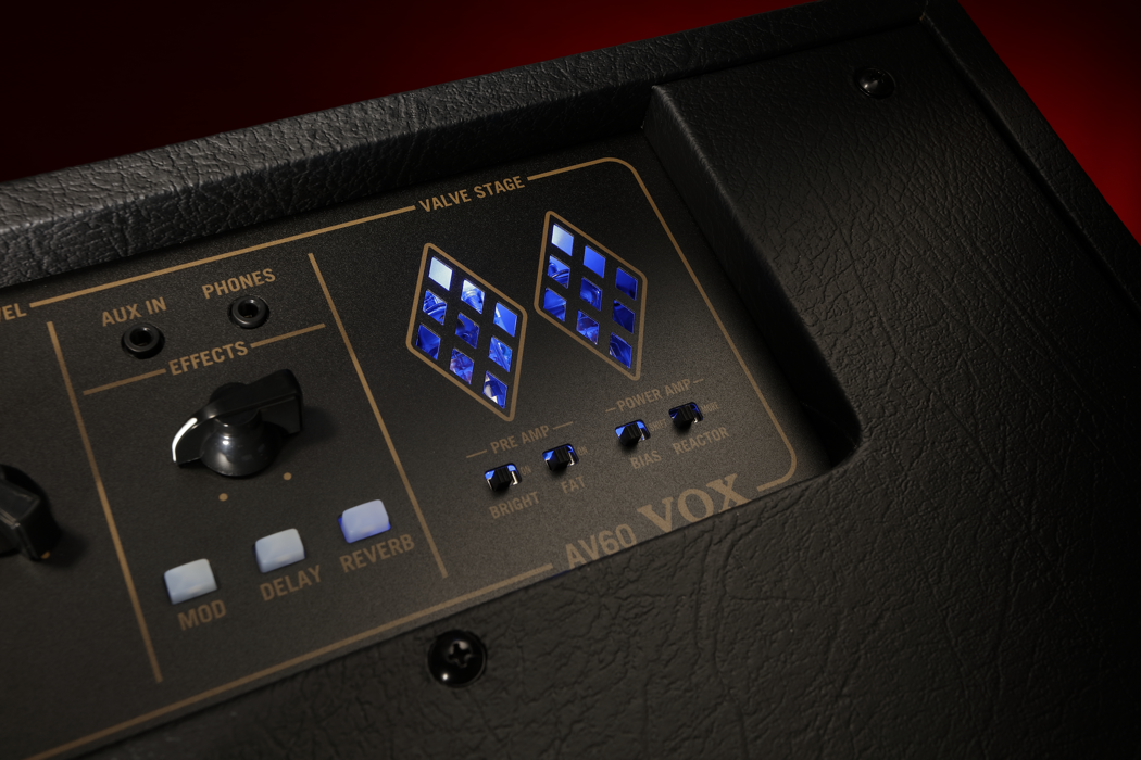 VOX AV-serie valve amplifier multi circuit