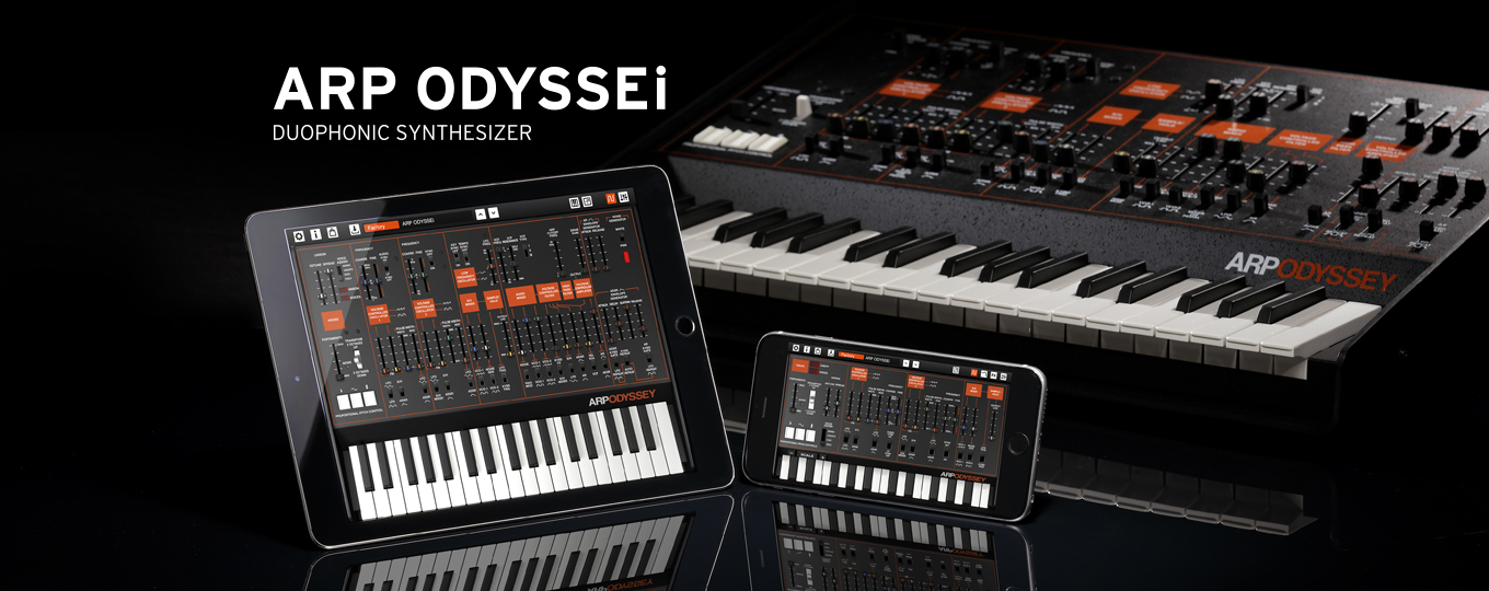 ARP ODYSSEi ios-app synthesizer